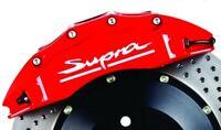 4 Pegatinas sticker aufkleber caliper brake Toyota Supra pinzas freno 8 cm