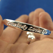Fashion Silver Tone Newborn Baby Bracelet Bangle for Infant with Bell Heart Leaf