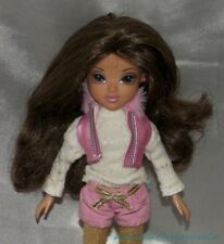 Moxie Girlz MAGIC SNOW SOPHINA Brunette Jointed Fashion Doll Pink Winter Outfit