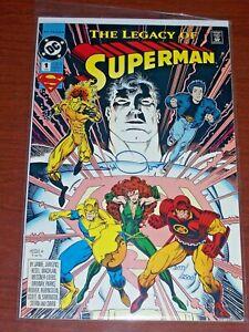 Legacy Of Superman #1! (1993) Signed by Walt Simonson! VF! COA!