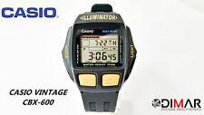 VINTAGE  CASIO ORIGINAL CBX-600 TACHY METER WR.100 MODULO 1264 JAPAN