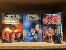 LOT OF 3 STAR WARS HARDCOVER BOOKS - VERY GOOD
