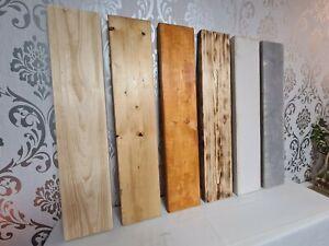 Holzbohle 4/20 Massivholz Zuschnitt Fichte/Tanne gehobelt  Bohle ab 15 EUR/lfdm