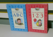 PERCY THE PARK KEEPER ABC KIDS CHARACTER BOOKS! NICK BUTTERWORTH - ABC AND 123!