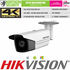 HIKVISION 4K UHD H.265 2.8MM 8MP 80M IR POE ONVIF P2P IP SECURITY CCTV CAMERA