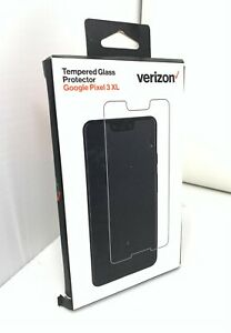NEW Authentic Verizon Curved Glass Screen Protector for Google Pixel 3 XL CLEAR
