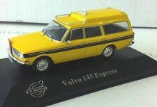 "wonderful ATLAS-modelcar VOLVO 145 EXPRESS ""TAXI"" 1969 - yellow - 1/43 - lim."