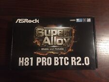 ASRock h81 pro btc. Motherboard for cryptocurency mining NEW