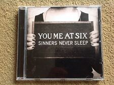 You Me At Six - Sinners Never Sleep - You Me At Six CD Cheap & Fast Free Post UK