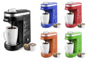 Single Serve Coffee Maker K Cup Machine Pod Size Compact Keurig Brewer Pot New
