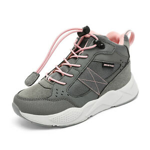 DREAM PAIRS Kids Boys Girls High Top Fashion Sneakers JR Unisex Athletic Shoes
