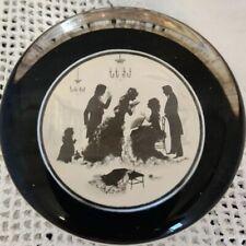 Paperweight Conversation Piece In Silhouette Authentic Fashion 1875 P. Bates Ltd