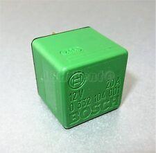 28-Toyota Multi-Use 4-Pin Green Relay 90084-98011 Bosch 0332104001 ISO B4-S