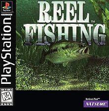Reel Fishing, Very Good PlayStation, Pc Video Games