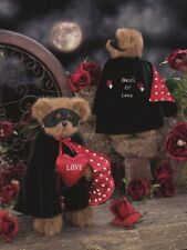 "Bearington Plush #1914 BANDIT OF LOVE, 12""  NEW From our Retail Store VALENTINES"