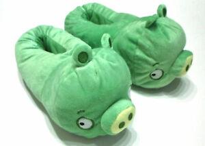 Angry Birds Hausschuhe * Green Pig * Größe 36 * Pantoffel * NEU + OVP *
