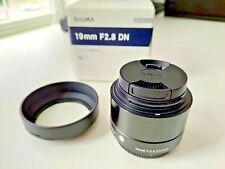 Sigma DN Art 30mm f/2.8 AF Lens For Panasonic/Olympus M. 4/3