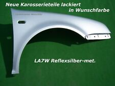 VW Bora KOTFLÜGEL RECHTS LACKIERT IN  LA7W REFLEXSILBER-MET.