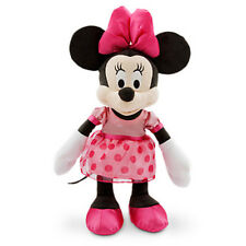 "NEW 17"" Disney Store Clubhouse Minnie Mouse Plush Toy Stuffed Doll Dress"
