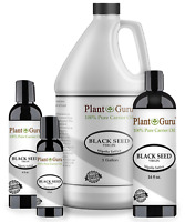 Black Cumin Seed Oil Cold Pressed 100% Pure Organic Virgin Nigella Sativa Bulk