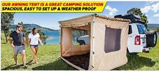 KINGS MOUNTABLE 2.5M x 2.5M AWNING ROOF TOP TENT CAMPER TRAILER 4WD 4X4 CAR RACK