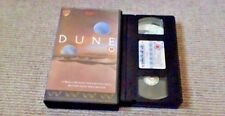 DUNE Original Theatrical Version 1984 UK PAL VHS VIDEO 1989 David Lynch Sting