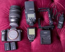 New ListingSony a7 Iii 24.2Mp Digital Camera Master Kit w/24-105 lens, flash, remote.