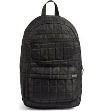 RVCA 'Not Worthy' Black Nylon Quilted Backpack 140829