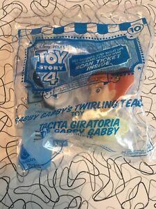 McDonalds Happy Meal Toy Story 4 #10 Gabby Gabby's Twir Sealed Brand New Tickets