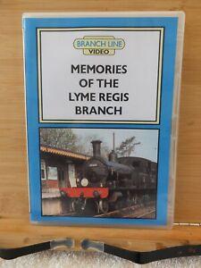 BRANCH LINE VIDEOS - MEMORIES OF THE LYME REGIS BRANCH - RAILWAY DVD