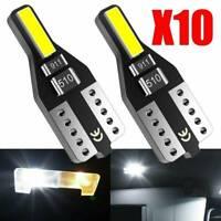10PCS T10 501 194 W5W 7020 SMD Chip LED Car CANBUS Error Free Wedge Light Bulb^