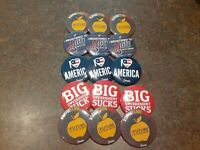LOT of 15 TURNING POINT USA TPUSA.COM Campaign Buttons Conservative Libertarian