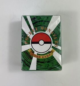 Pocket Monsters card game  (New) Sealed in package.  100 Pcs