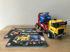 Lego Technic 42024 camión contenedor/Saltar camión plus instructions Sin Caja