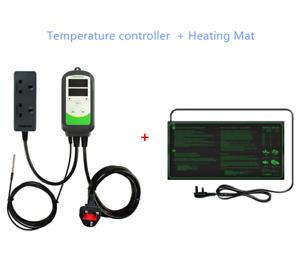 Inkbird Temp Controller Thermostat Heating Mat Warmer Seed Starter Greenhouse UK