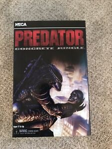 PREDATOR CONCRETE JUNGLE SEALED NEW NECA AUTHENTIC ULTIMATE SCARFACE