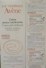 CREMA PELLI INTOLLERANTI AVENE creme peaux intolerantes 0% parabeni conservanti