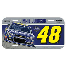 Jimmie Johnson 2016 Lowe's Plastic License Plate NASCAR