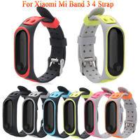 Armband aus Silikon Handgelenk (Strap) für Xiaomi MI Band 4 3 Ersatz Armband