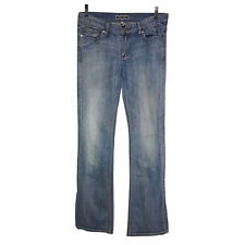 Sportsgirl Womens Pants Size 10 Blue Distressed Denim Jeans