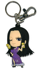 **License** One Piece PVC Keychain SD Boa Hancock #36804