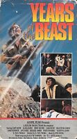 YEARS OF THE BEAST (VHS) OOP POST APOCALYPSE RELIGIOUS HORROR 1981