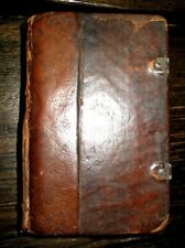 1796 PENNSYLVANIA GERMAN Holy Bible NEW TESTAMENT Philadelphia WILLIS American