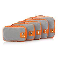 Heys Pack ID 5-pc Packing Cube Organization Set Orange 30071-0012-00