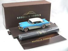 Brooklin Models BRK 228 1956 Buick Century Riviera 4-Door Hardtop blue 1:43