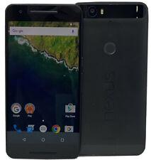 Huawei Nexus 6P H1511 32GB GSM Unlocked Black Android 4G Smartphone *Fair*