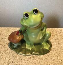 Vintage Josef Originals frog mshroom and ladybug Korea