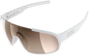 POC Crave Sunglasses - Hydrogen White, Brown/Silver-Mirror Lens