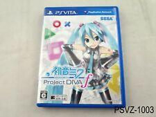 Project Diva f Japanese Import PS Vita PSVita Japan Hatsune Miku US Seller A