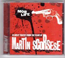 (GQ301) Mob Life, Martin Scorsese, 16 tracks various art- 2004 - Sealed Uncut CD